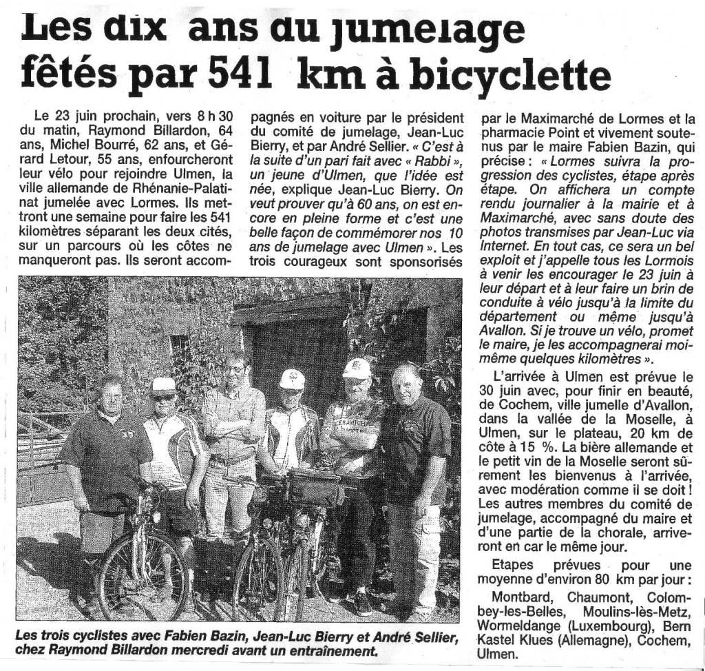 541km-a-bicycletteYonne-Républicaine