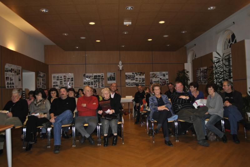 Prochaine assemblée générale le 30 janvier 2015