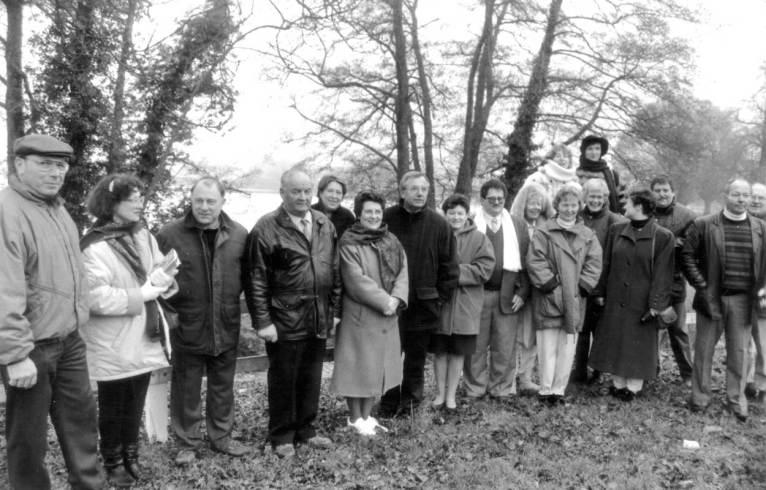 Première délégation d'Ulmen à Lormes