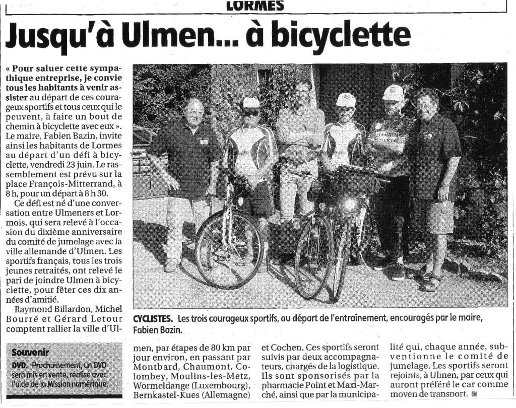 ulmen a bicyclette