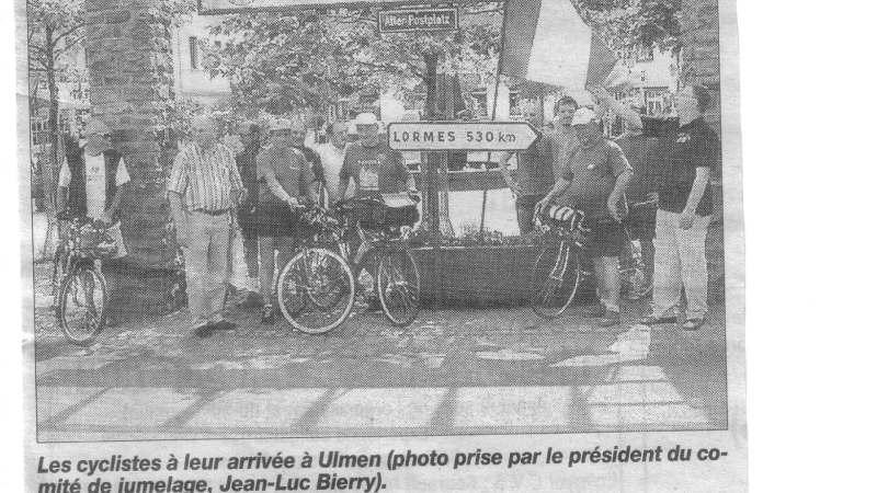 Les cyclistes français fêtés en Allemagne