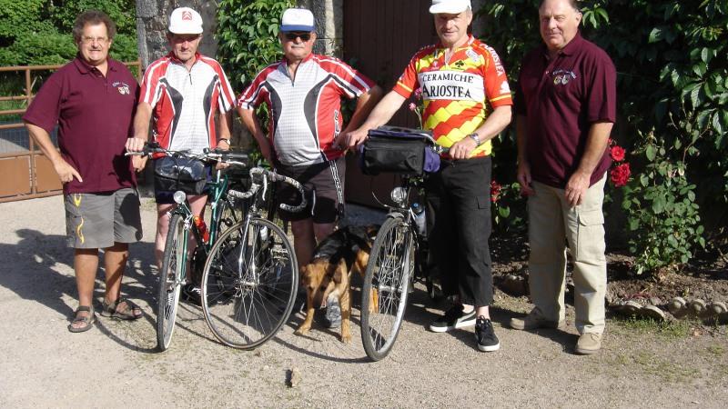 Lormes-Ulmen à vélo : les préparatifs