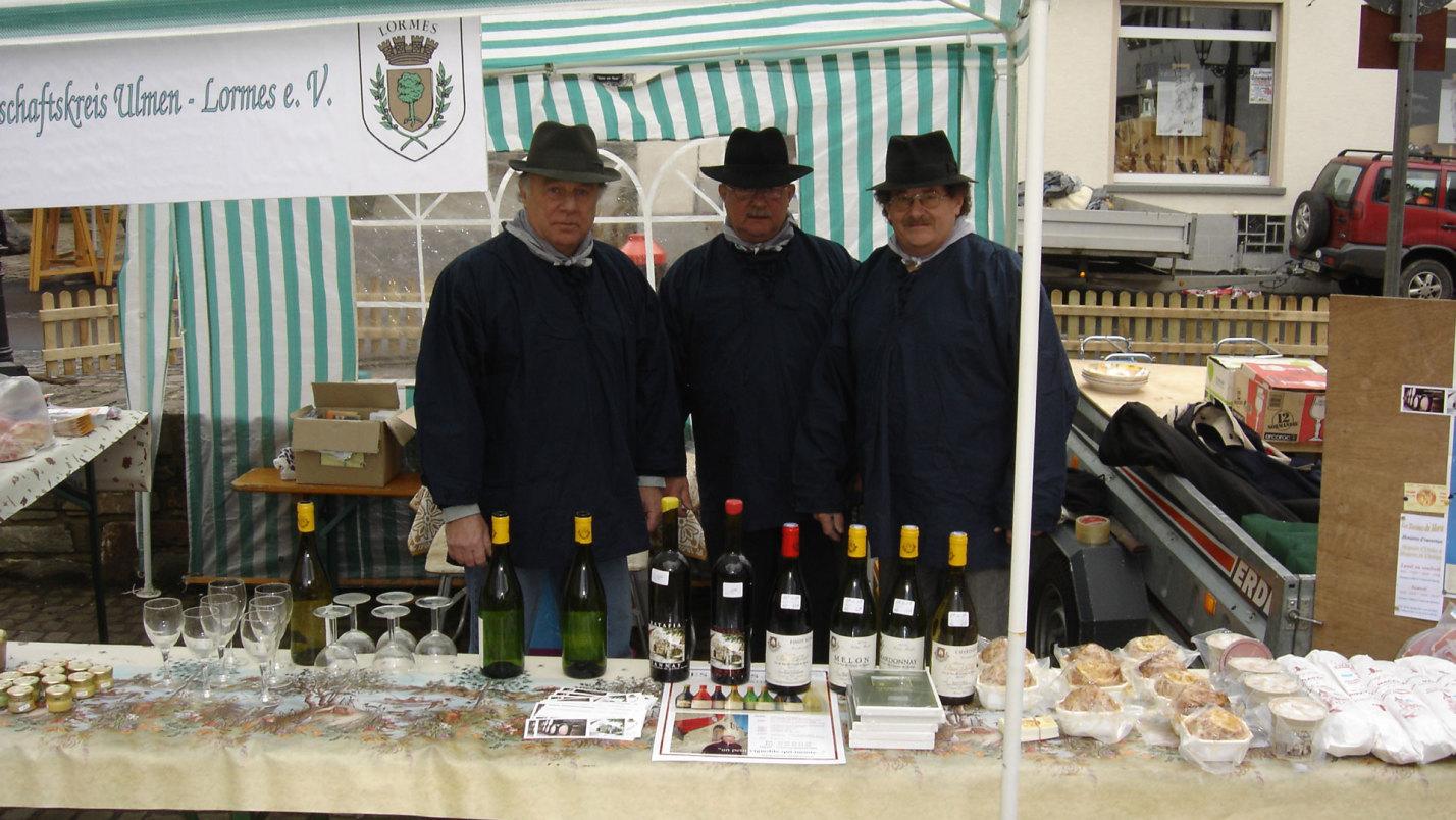 Participation au marché de Pâques à Ulmen