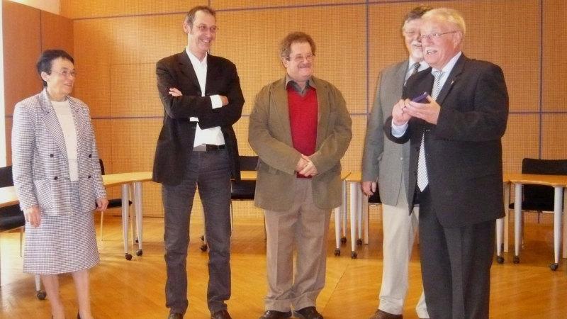 Le nouveau Maire de Ulmen en visite à Lormes